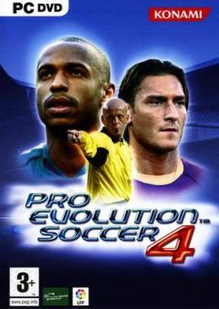 Jaquette de Pro Evolution Soccer 4 PC