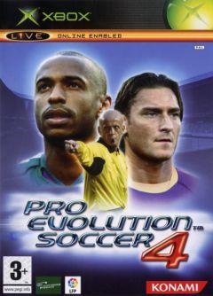 Jaquette de Pro Evolution Soccer 4 Xbox