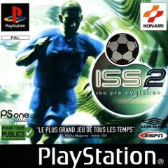 Jaquette de ISS Pro Evolution 2 PlayStation