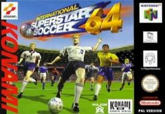 Jaquette de International Superstar Soccer 64 Nintendo 64