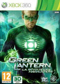 Jaquette de Green Lantern : La Révolte des Manhunters Xbox 360