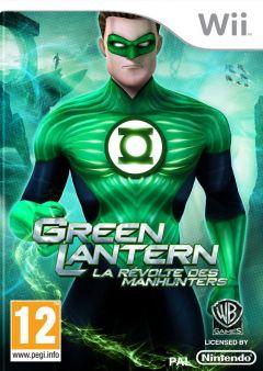 Jaquette de Green Lantern : La Révolte des Manhunters Wii