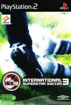 Jaquette de ISS 3 PlayStation 2