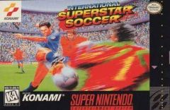 Jaquette de International Superstar Soccer Super NES
