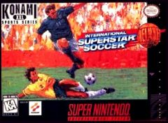 Jaquette de International Superstar Soccer Deluxe Super NES