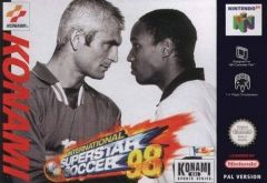 Jaquette de International Superstar Soccer 98 Nintendo 64