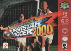 Jaquette de International Superstar Soccer 2000 Nintendo 64