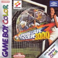 Jaquette de International Superstar Soccer 2000 (GBC) Game Boy Color