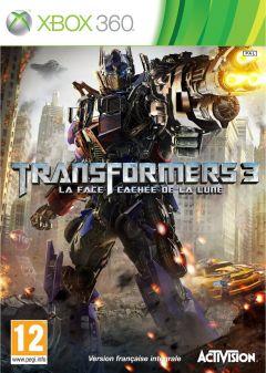 Jaquette de Transformers 3 : La Face Cachée de la Lune Xbox 360