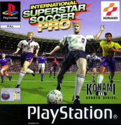 Jaquette de International Superstar Soccer Pro PlayStation