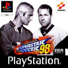 Jaquette de ISS Pro 98 PlayStation