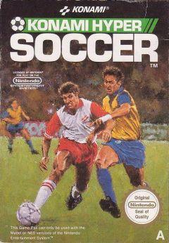 Jaquette de Konami Hyper Soccer NES