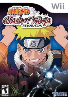 Jaquette de Naruto : Clash of Ninja Revolution Wii