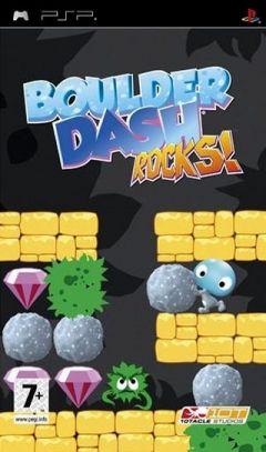 Jaquette de Boulder Dash  Rocks ! PSP