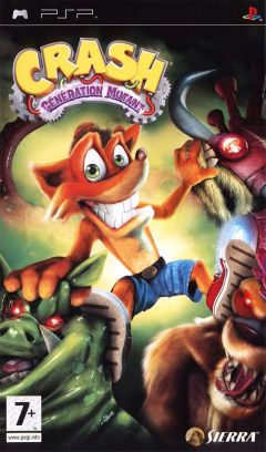 Jaquette de Crash : Mind Over Mutant PSP