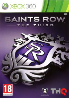 Jaquette de Saints Row : The Third Xbox 360