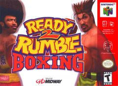 Jaquette de Ready 2 Rumble Boxing Nintendo 64