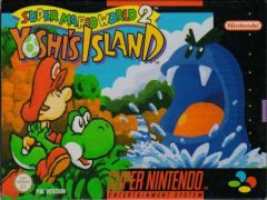 Jaquette de Super Mario World 2 : Yoshi's Island Super NES