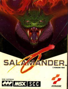 Jaquette de Salamander MSX