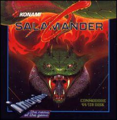 Jaquette de Salamander Commodore 64