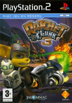 Jaquette de Ratchet & Clank 3 PlayStation 2