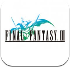 Jaquette de Final Fantasy III iPhone, iPod Touch