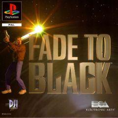 Jaquette de Fade to Black PlayStation