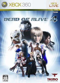 Jaquette de Dead or Alive 4 Xbox 360