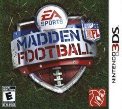 Jaquette de Madden NFL Football Nintendo 3DS