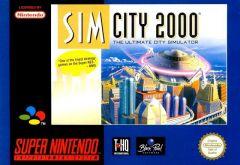 Jaquette de SimCity 2000 Super NES