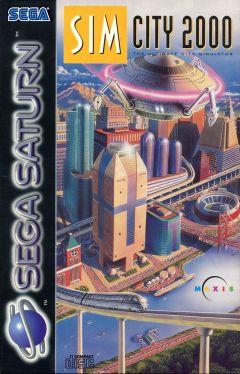 Jaquette de SimCity 2000 Sega Saturn