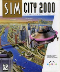 Jaquette de SimCity 2000 PlayStation
