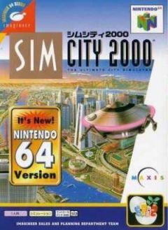 Jaquette de SimCity 2000 Nintendo 64