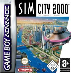 Jaquette de SimCity 2000 Game Boy Advance