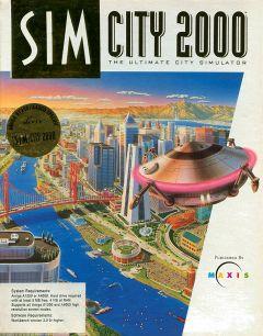 Jaquette de SimCity 2000 Amiga
