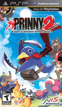 Jaquette de Prinny 2 :  Dawn of Operation Panties, Dood ! PSP