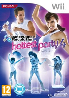 Jaquette de DanceDanceRevolution : Hottest Party 4 Wii