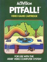 Jaquette de Pitfall ! Atari 2600