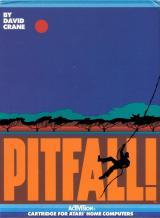 Jaquette de Pitfall ! Atari 8-Bit