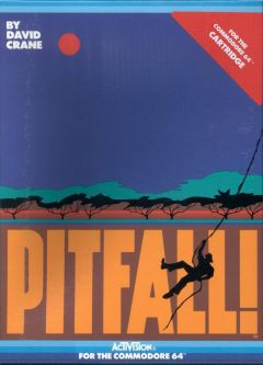 Jaquette de Pitfall ! Commodore 64