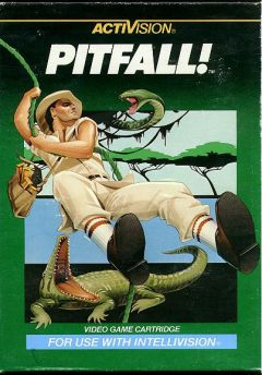 Jaquette de Pitfall ! Intellivision