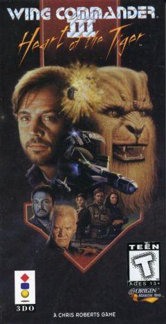 Jaquette de Wing Commander III : Heart of the Tiger 3DO