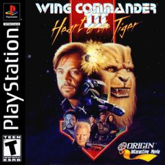 Jaquette de Wing Commander III : Heart of the Tiger PlayStation