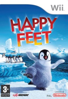 Jaquette de Happy Feet Wii