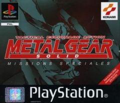 Jaquette de Metal Gear Solid : Missions Spéciales PlayStation
