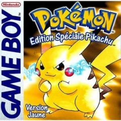 Jaquette de Pokémon Jaune Game Boy