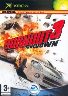 Jaquette de Burnout 3 : Takedown Xbox