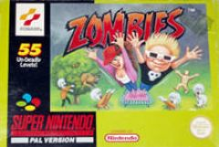 Jaquette de Zombies Ate My Neighbors Super NES