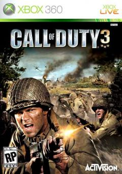 Jaquette de Call of Duty 3 : En marche vers Paris Xbox 360