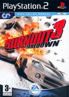 Jaquette de Burnout 3 : Takedown PlayStation 2